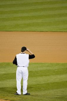 Free Pitcher In Ballpark Stock Photo - 5302190