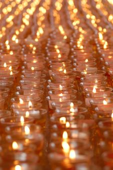 Free Infinite Oil Lamps Stock Photography - 5302322