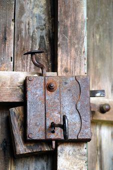 Free Door Lock Stock Image - 5303031