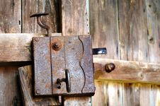 Free Door Lock Royalty Free Stock Photography - 5303057