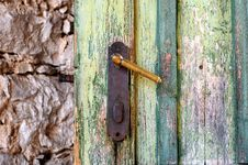 Free Door Lock Stock Photo - 5303110