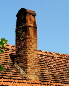 Free Roof Tiles Royalty Free Stock Photos - 5303208