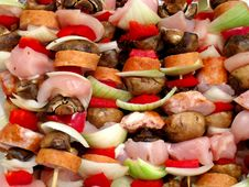 Free Grill The Shashlik Stock Images - 5303404