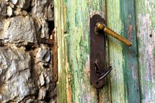 Free Door Lock Royalty Free Stock Image - 5304456