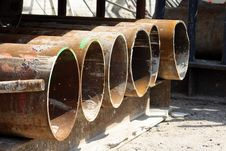 Free Rusty Pipes Royalty Free Stock Photos - 5304458
