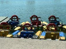 Free Three Boats Stock Photography - 5304582
