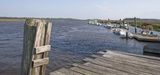 Free Old Dock And Boats Royalty Free Stock Photography - 5304907