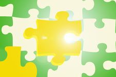 Free Puzzle Background - Illustration Royalty Free Stock Image - 5305516