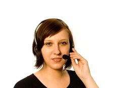 Free Friendly Operator Stock Image - 5305891