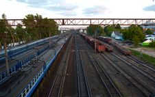Free Panorama Of Tracks Stock Images - 5306034