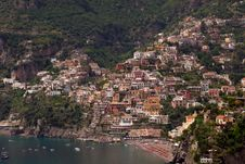 Free Positano, The Bay Royalty Free Stock Photo - 5307215