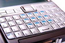 Free Mobile Phone Keyboard Stock Photography - 5307522