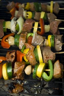 Shishkabobs Royalty Free Stock Photos