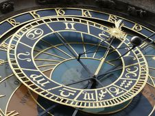 Free Astronomical Clock. Prague. Czech Republic Stock Image - 5308401