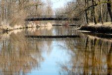 Free Bridge Other The River Stock Photo - 5308690