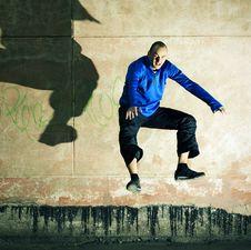 Free Jump. Royalty Free Stock Image - 5308846