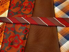Free Ties Royalty Free Stock Photo - 5308905