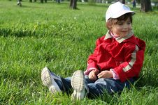 Free Little Girl In The Park Royalty Free Stock Photography - 5308937