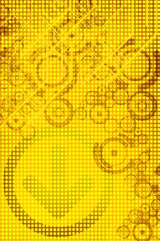 Free Yellow Design Royalty Free Stock Images - 5308989
