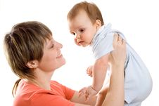 Free Mother And Baby Royalty Free Stock Photo - 5309245