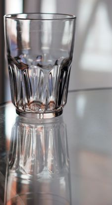 Free Glass On A Table Royalty Free Stock Photos - 5309908