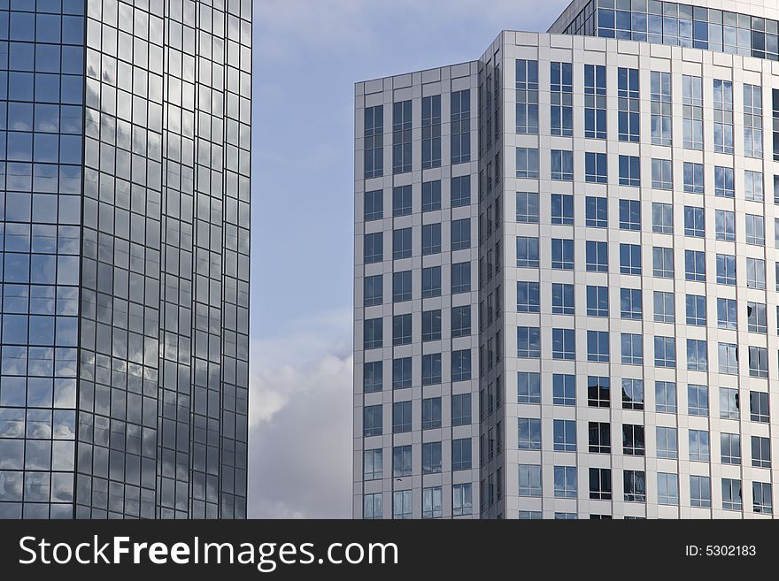 Modern Architecture And Office Buildings Free Stock Images