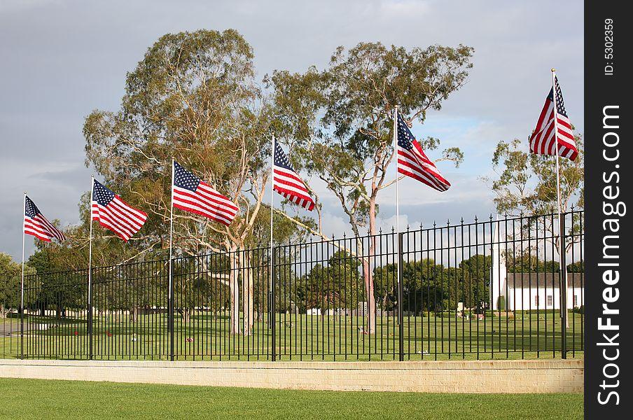 Patriotic cemetery