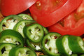 Free Green Pepper And Red Tomato Stock Photos - 5318553