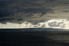 Stormy Cruise Stock Photo