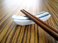 Free Chopstick Royalty Free Stock Photography - 5310757