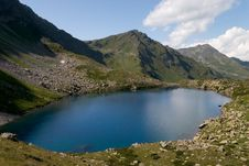 Free Lake In The Caucasus Mountains Royalty Free Stock Images - 5311719