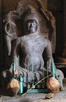 Free Cambodia; Angkor; Ta Prohm  Temple Royalty Free Stock Image - 5312446