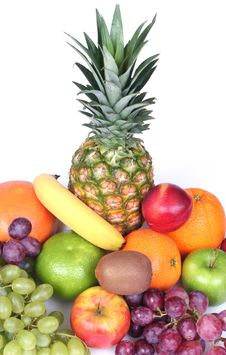 Free Tropical Fruits Royalty Free Stock Photo - 5312655