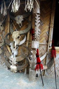 Free A Partial View Of A Naga Hut. Royalty Free Stock Images - 5313289