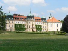 Free Castle Lany Stock Photo - 5315050
