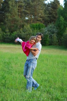 Free Father And Daughter Stock Images - 5315154