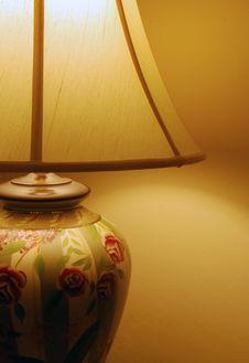 Lamp Illuminated Stock Images