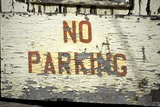 Free No Parking Stock Photos - 5315693