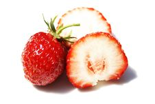 Free Real Strawberry Stock Image - 5315711