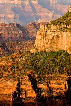 Free Canyon Sunrise Royalty Free Stock Images - 5315729
