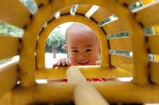 Free Asian Baby Smile Stock Images - 5316044