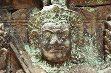 Free Cambodia Angkor Leper King Terrace Royalty Free Stock Photo - 5316435