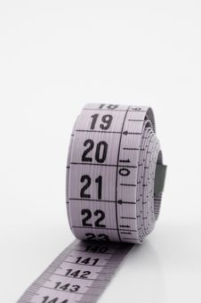Free Measuring Tape. Royalty Free Stock Image - 5316816
