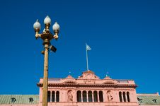 Free Pink House, Buenos Aires. Royalty Free Stock Photography - 5316997