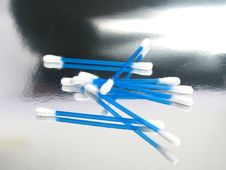 Cotton Sticks Stock Images