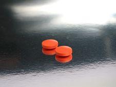 Free Orange Medicines Royalty Free Stock Images - 5317239