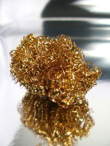 Free Sponge Of Bronze Stock Photos - 5317603