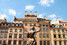 Free Old Town In Warsaw Stock Image - 5317641