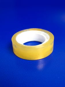 Free Adhesive Tape Roll Royalty Free Stock Photography - 5317787