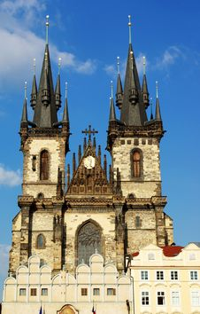 Free Tyn Church In Prague Stock Photography - 5317792